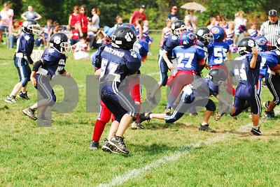 Wallkill Lightning Panthers vs Goshen Blue - Football - 9-14-08