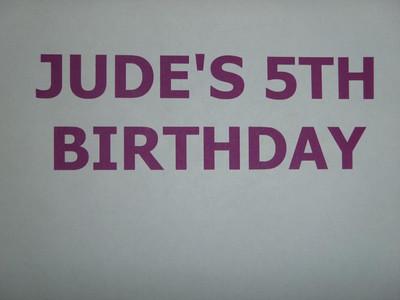 Jude's 5th Birthday BounceU