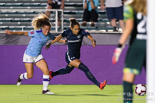 NC Courage vs Manchester City 8-15-2019