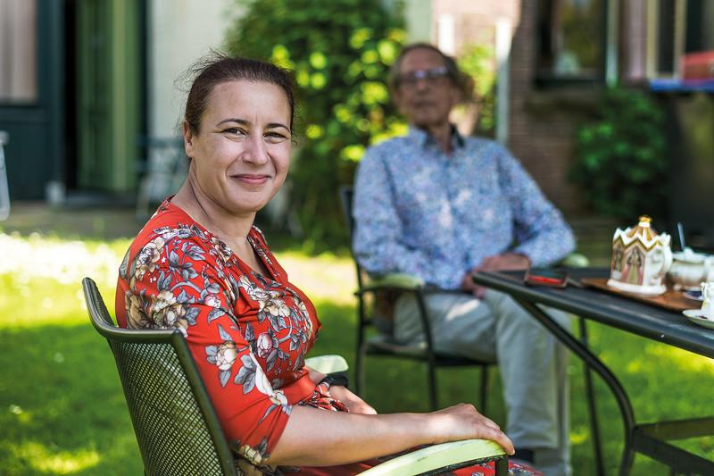 Adriaan Meij en Hayat El Mahjoubi richten samen Stichting Klassiek Drenthe op.