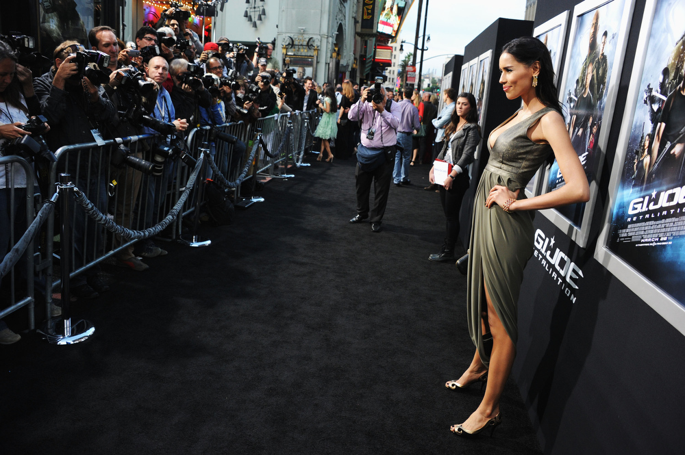 ". Actress Rebecca Da Costa attends the premiere of Paramount Pictures\' ""G.I. Joe:Retaliation\"" at TCL Chinese Theatre on March 28, 2013 in Hollywood, California.  (Photo by Kevin Winter/Getty Images)"