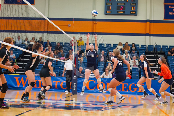 Wheaton College Volleyball vs Lake Forest, September 13, 2016