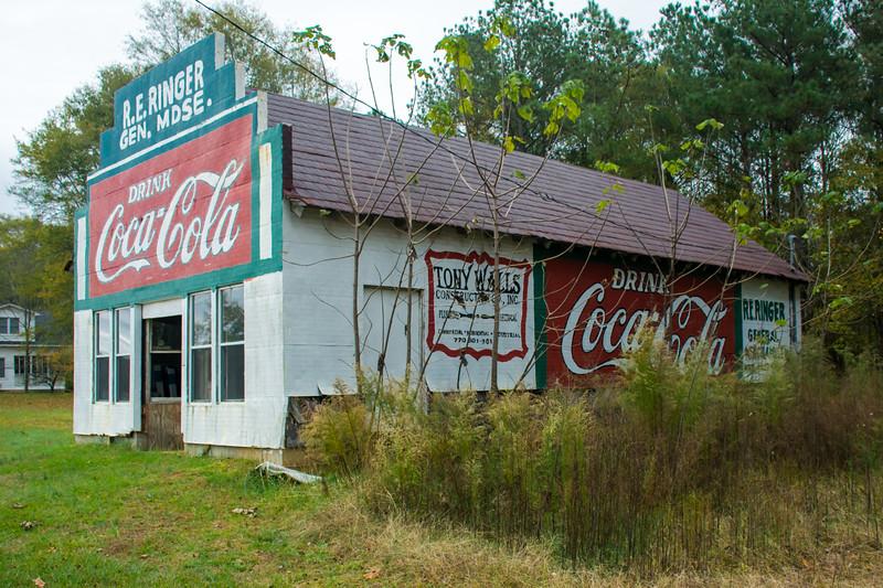 GA, Roopville - Coca-Cola Wall Sign 04