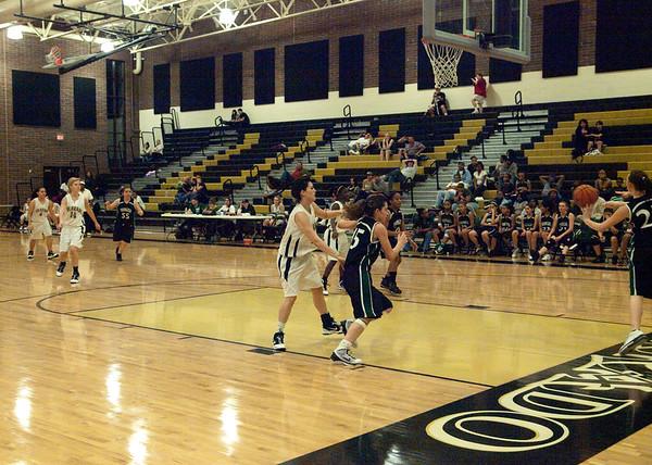 Basketball Varsity Girls vs Youngker 1/29/2010