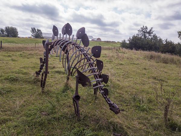 Metal Sculptures of Cherokee County