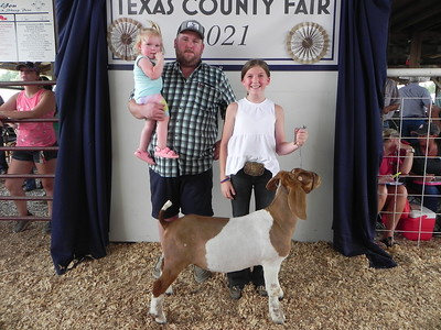 2021 Texas County Fair Junior Livestock Sale