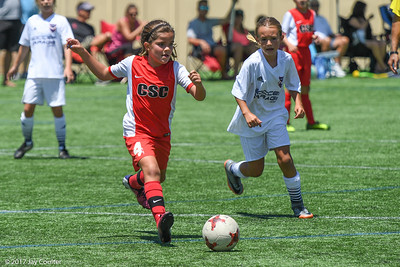 CSC Girls vs San Diego SC 8-12-2017