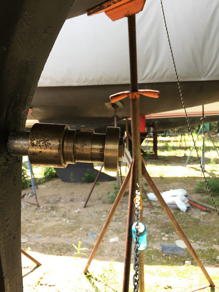 installing prop