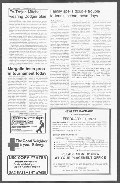 Daily Trojan, Vol. 76, No. 6, February 13, 1979