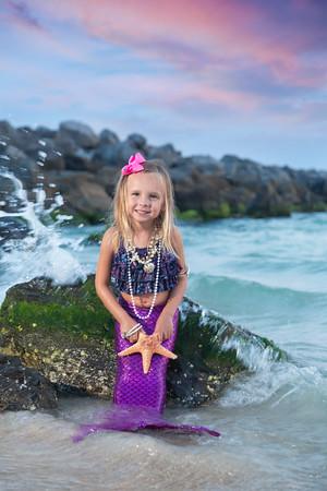 Ansley Roper Little Miss Mermaid Panama City Beach 2015 - Sun Fun Photo