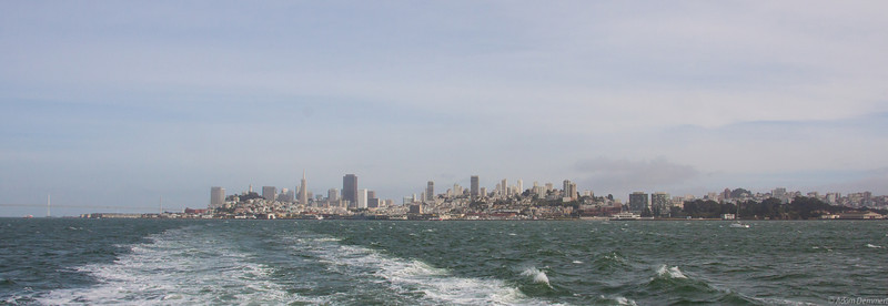 San Francisco from the ferry