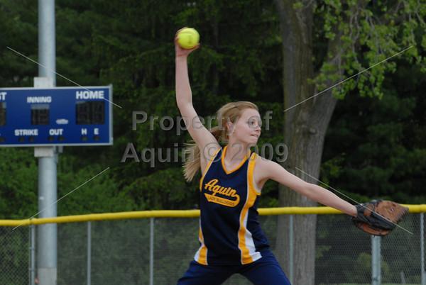 softball vs dupec  4.28.10