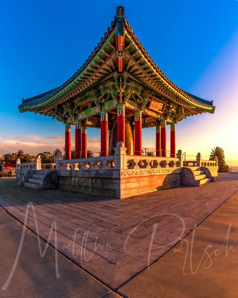 Korean Bell 49 shot HDR panorama Sunrise