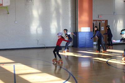 Grade 5 rollerskating