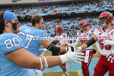 Carolina Tar Heels vs NC State Wolfpack Football Photos - 11.24.18