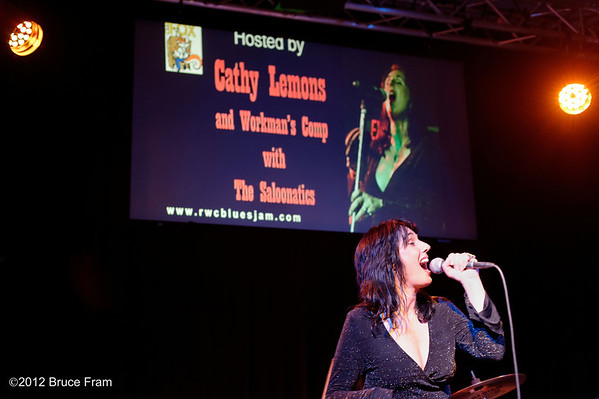 Cathy Lemons Hosts Fox Blues Jam