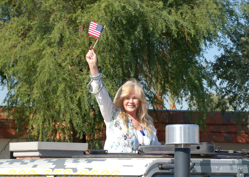 2008 Celebrity Grand Marshal Connie Stevens