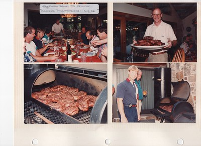 8-26-1993 Kenworth Dinner @ Brown's