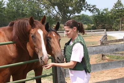 Teddy, King, And Darla Circle O Ranch Ware Shoals South Carolina