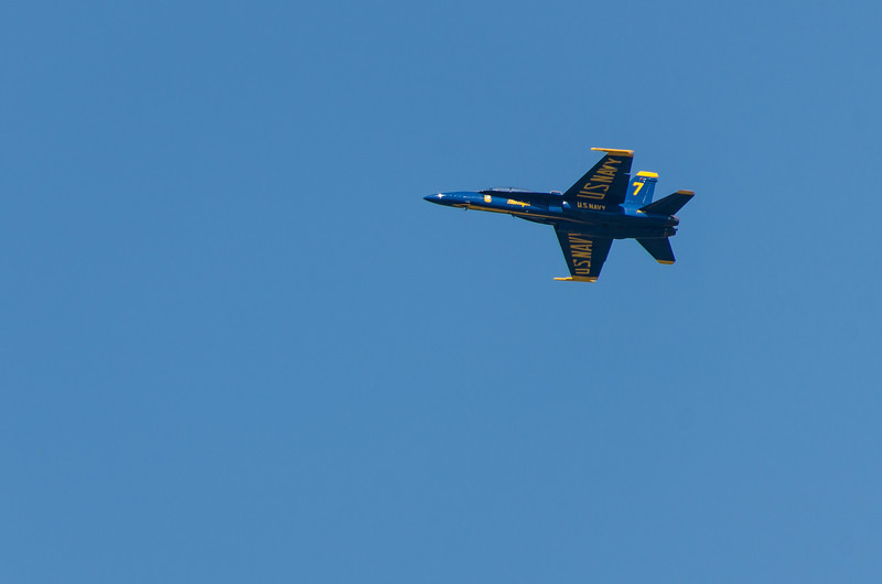 Blue Angels Solo Rehearsal