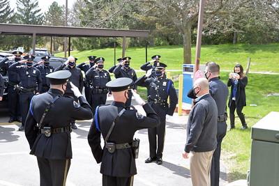Northville Township - Police Officer Doug Scoggins Retirement !!!