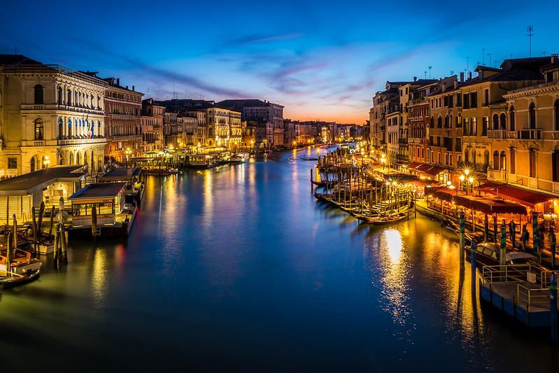 View from Rialto Bridge, Venice