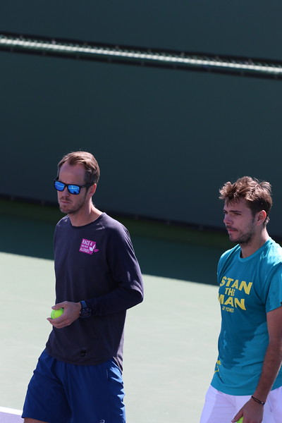 Stan with coach Magnus