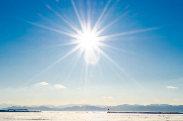 Ice Walk On Lake Champlain February 23