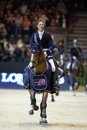 DANIEL DEUSSER - WINNER OF THE GRAND PRIX / LONGINES FEI WORLD CUP ™ PRESENTED BY GL EVENTS