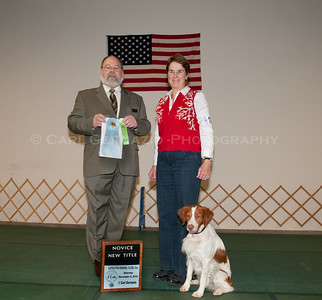 Catoctin Kennel Club OB/Rally December 2010