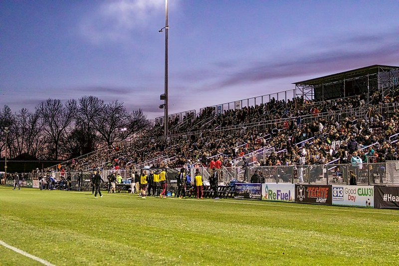 Bonney Field vs. San Jose Earthquakes Feb. 20, 2016