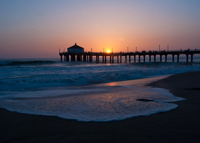 California Beach Piers