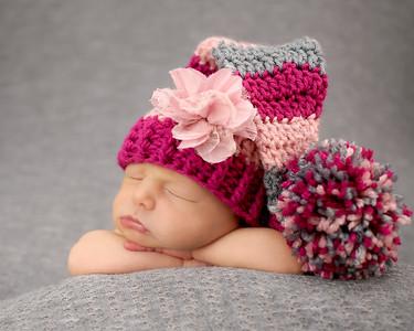 Hudson Newborn Peeks
