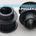 SKU: AM-PULLEY/24/22, 24 Teeth Pulley Gear for 5M Timing Belt, Suitable for Motor with 22mm Shaft