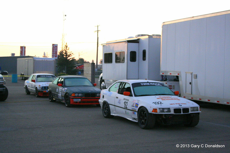 BMW CCA Club Racing and Genesee Chapter DE, Watkins Glen International, Saturday, 21-Sep-2013; Racers' paddoc - my 'home' for three days
