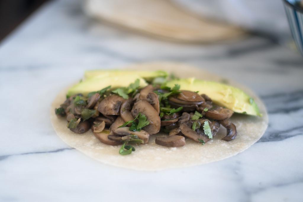 Mushroom Tacos - Vegan Mexican recipes