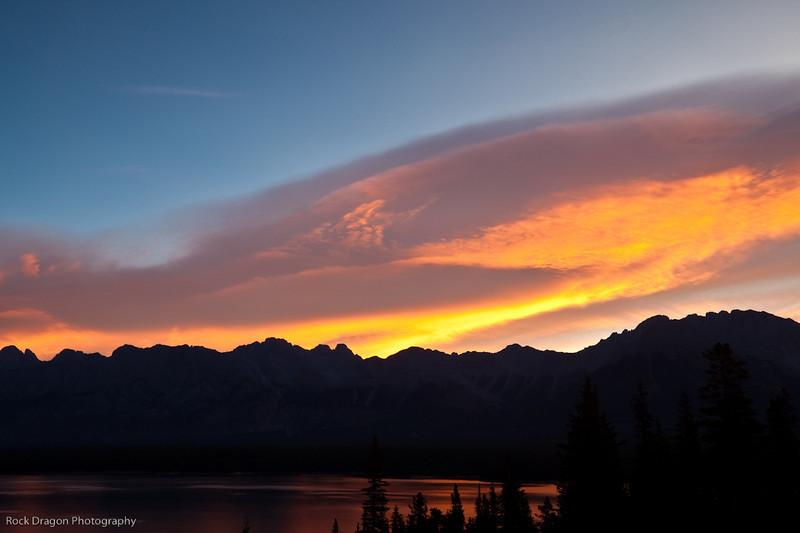 Sunrise, Kananaskis Country, Alberta