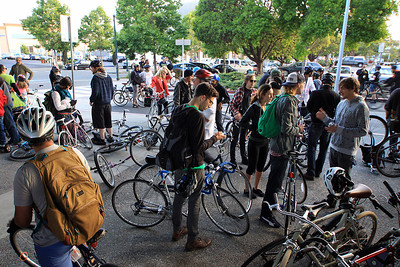 East Bay Bike Party July 2013