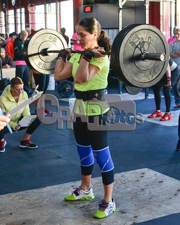 Scaled Division - WOD 1, Women