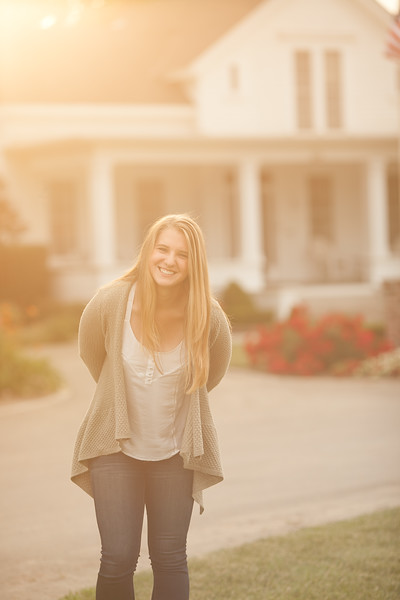 Grace - Senior Photography - Sorelle Winery - Stockton - California