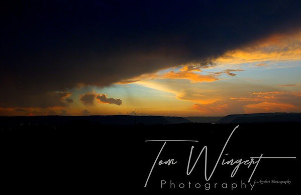 Storms and Sunset