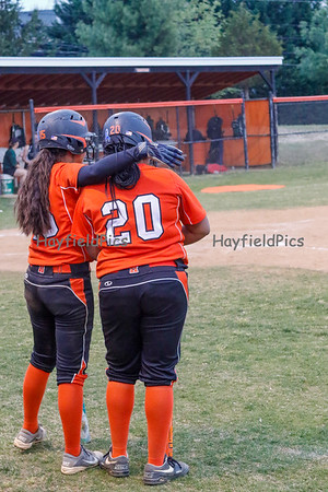 Varsity Softball vs Langley 4/21/16