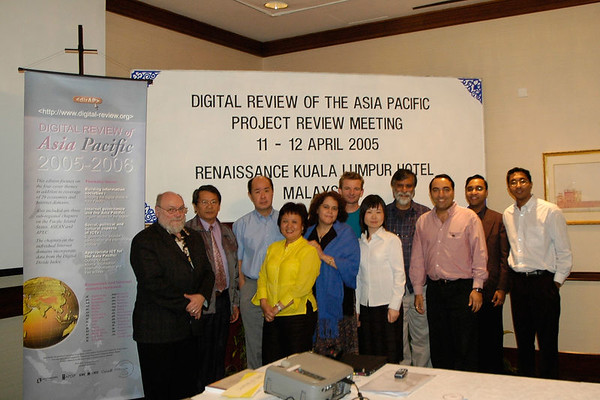 Digital Review of Asia Pacific, KL, Malaysia, Apr 2005