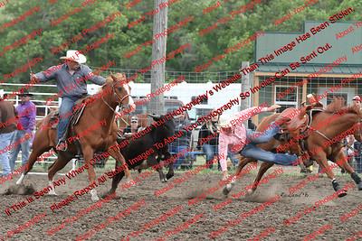 Saturday Steer Wrestling