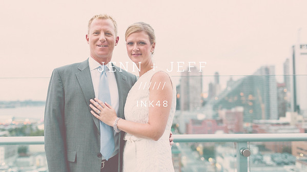 JENN + JEFF ////// INK48