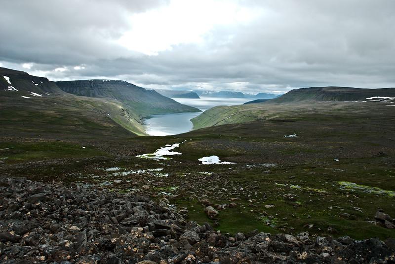 Hesteyrarfjörður. Áður Norðurfjörður.