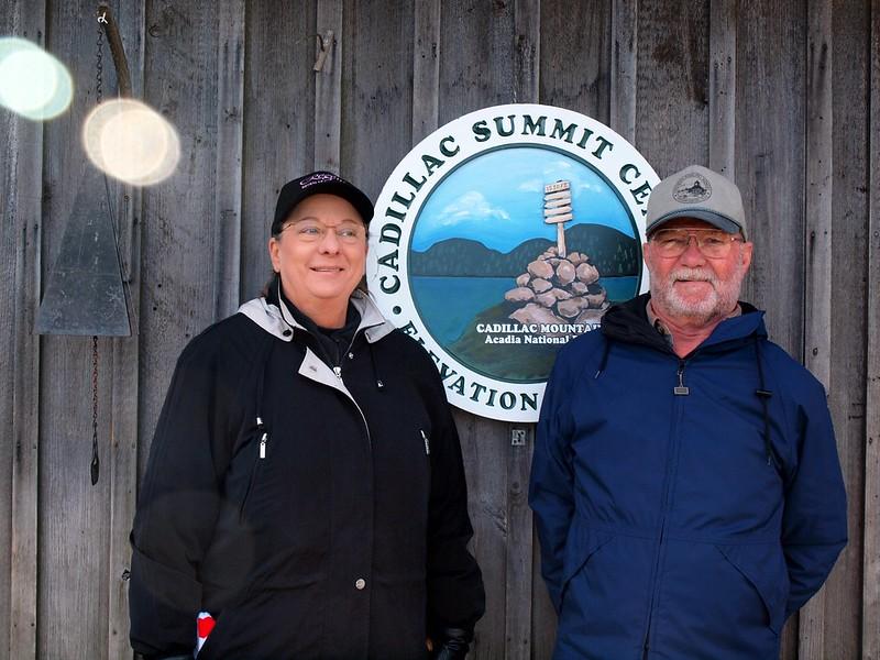 Cindy & David - Cadillac Mountain, Acadia National Park