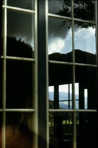 Mountains and windows
