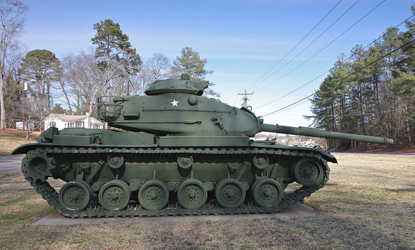AL Post #14 - Anderson, SC - M60A3