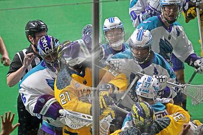 3/2/2019 - Rochester Knighthawks vs. Georgia Swarm - Infinite Energy Arena, Duluth, GA